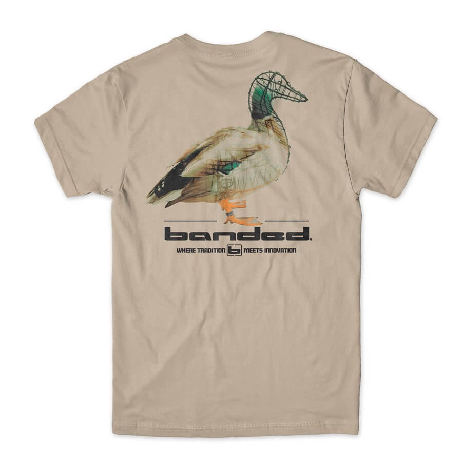 BANDED-DUCK WIREFRAME OUTDOOR