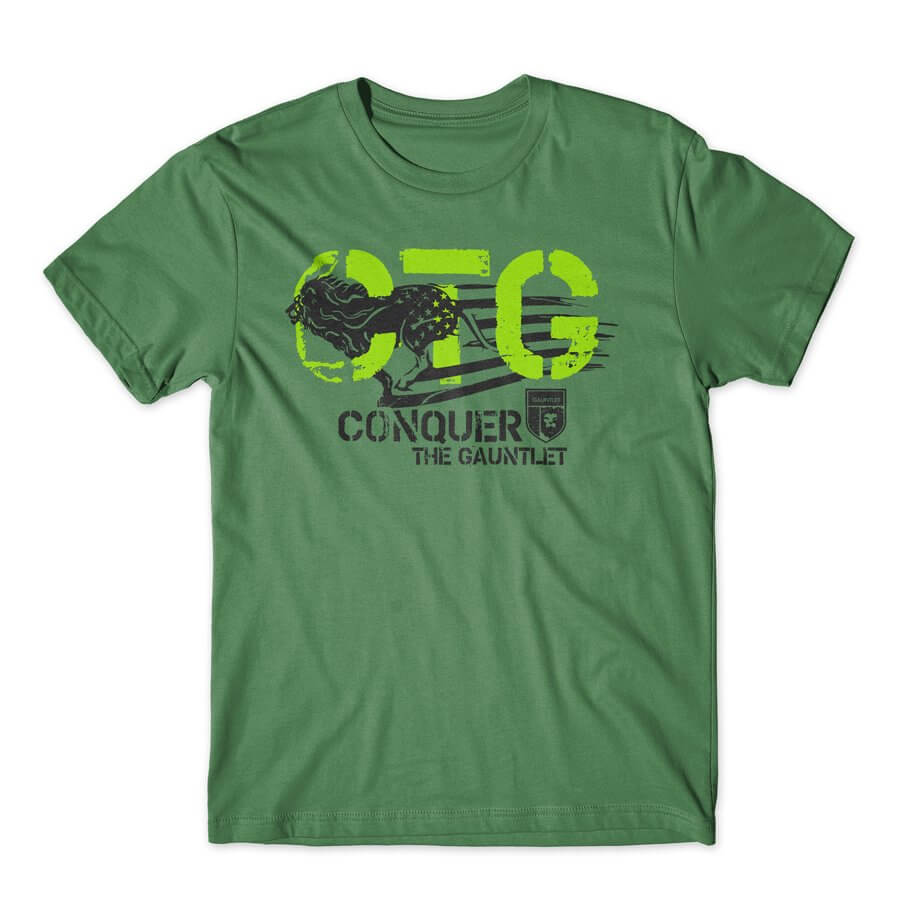 CONQUER THE GAUNTLET GREEN AMERICAN