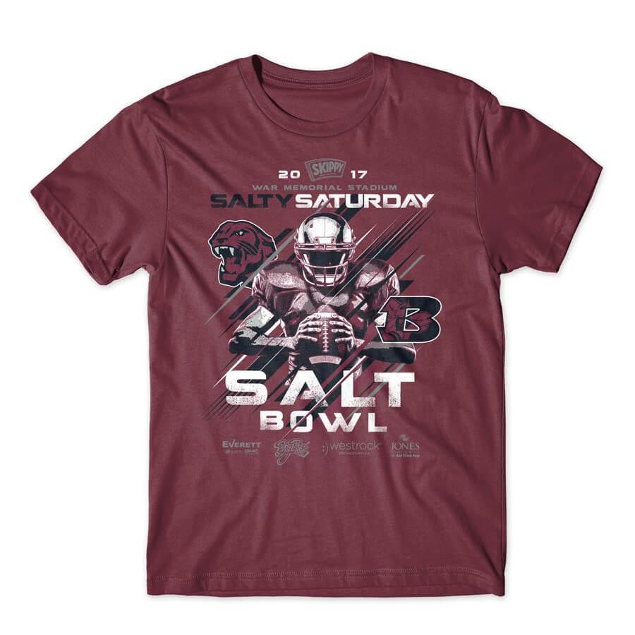 SALT BOWL BENTON VS BRYANT FOOTBALL GAME WAR MEMORIAL STADIUM