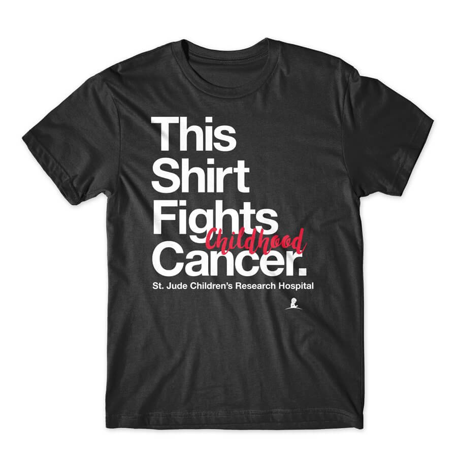 ST JUDE THIS SHIRT FIGHTS CANCER