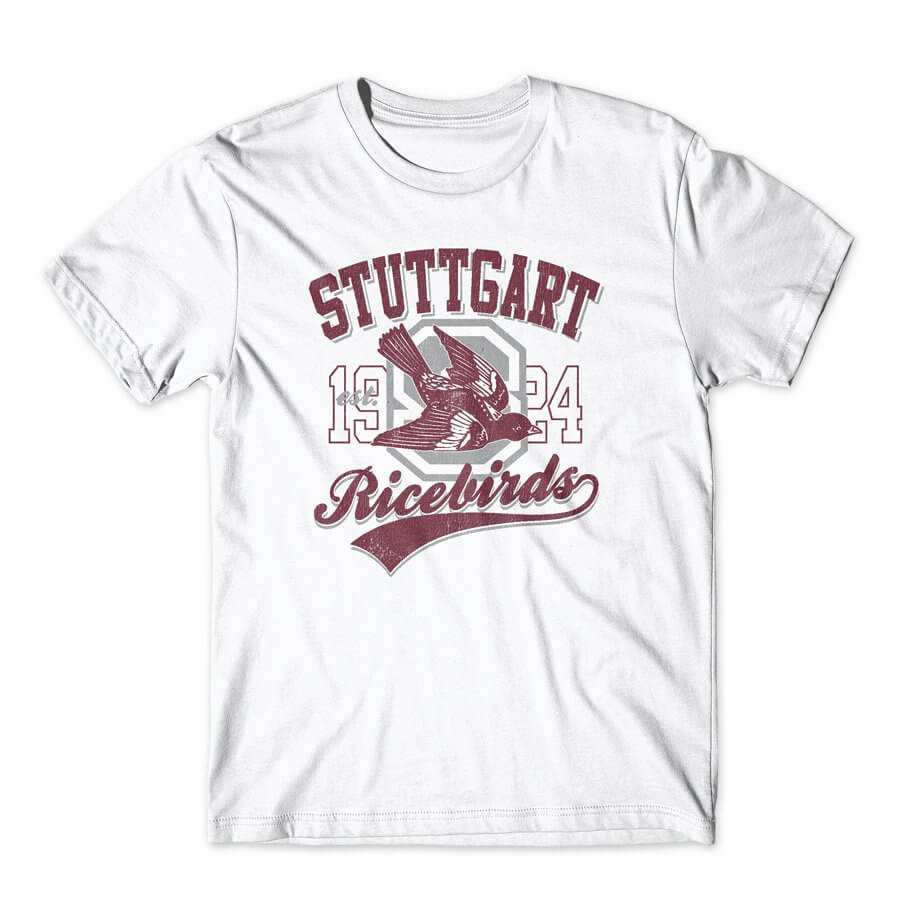 STUTTGART HIGH SCHOOL RICEBIRDS VINTAGE