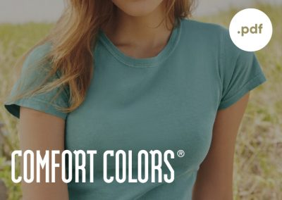 Comfort Colors Catalog