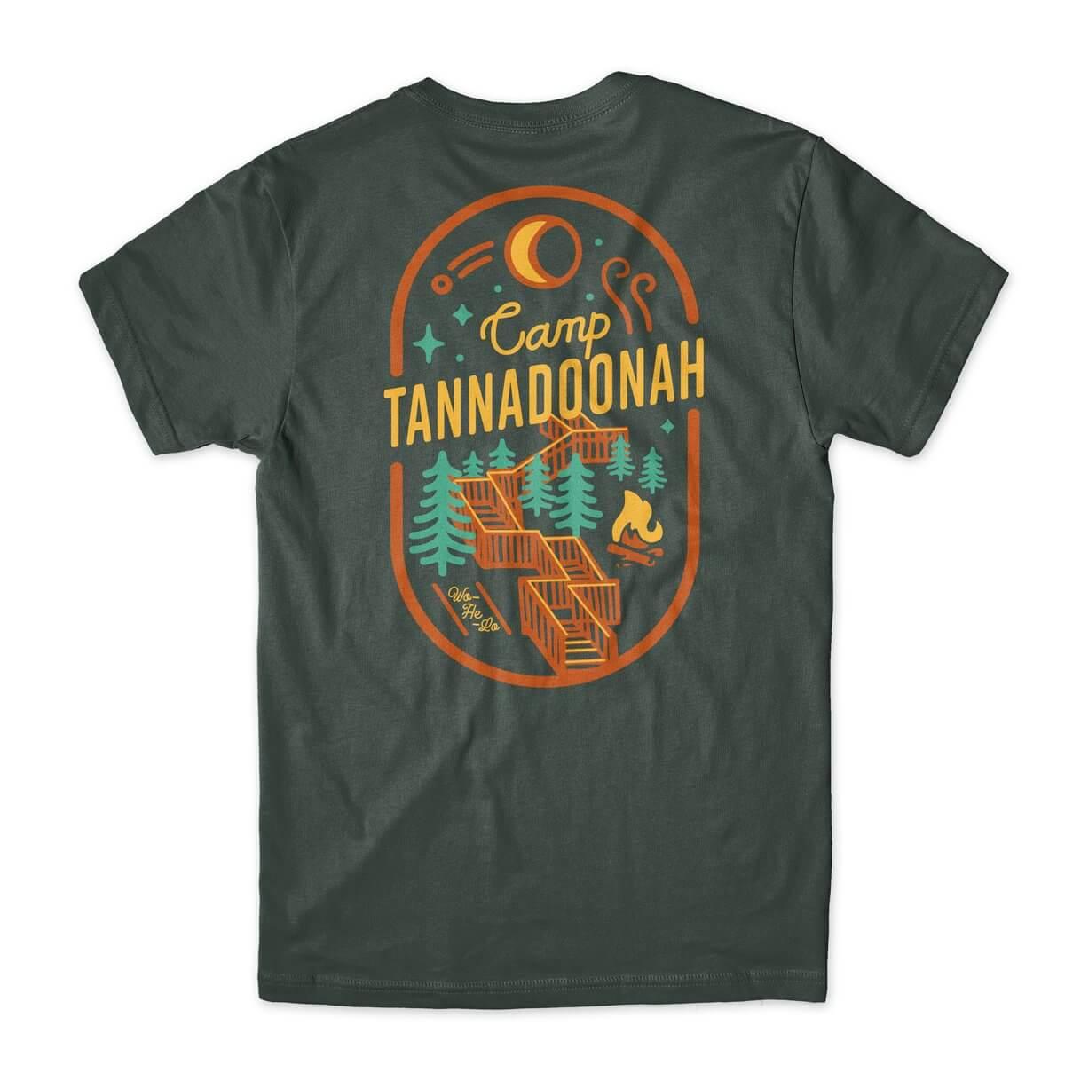 Camp Tannadoonah Stairs t-shirt