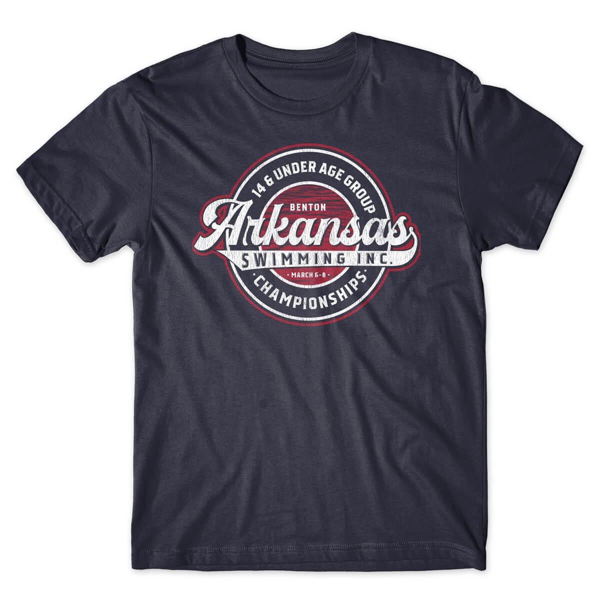 Arkansas Swimming Championships t-shirt design