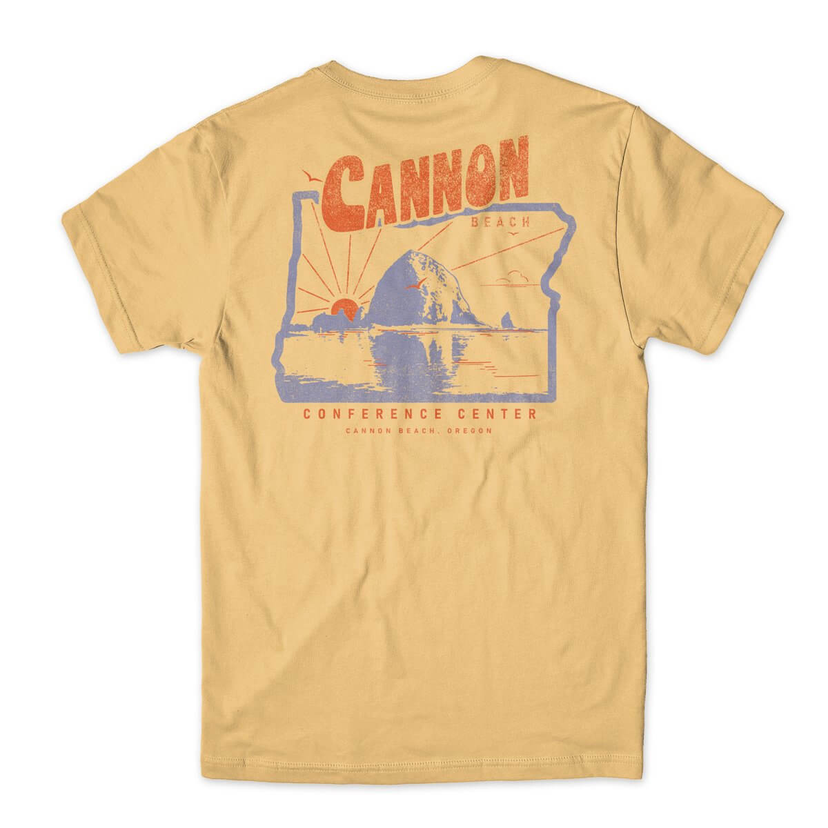 Cannon Beach Conference Center Beach Day t-shirt