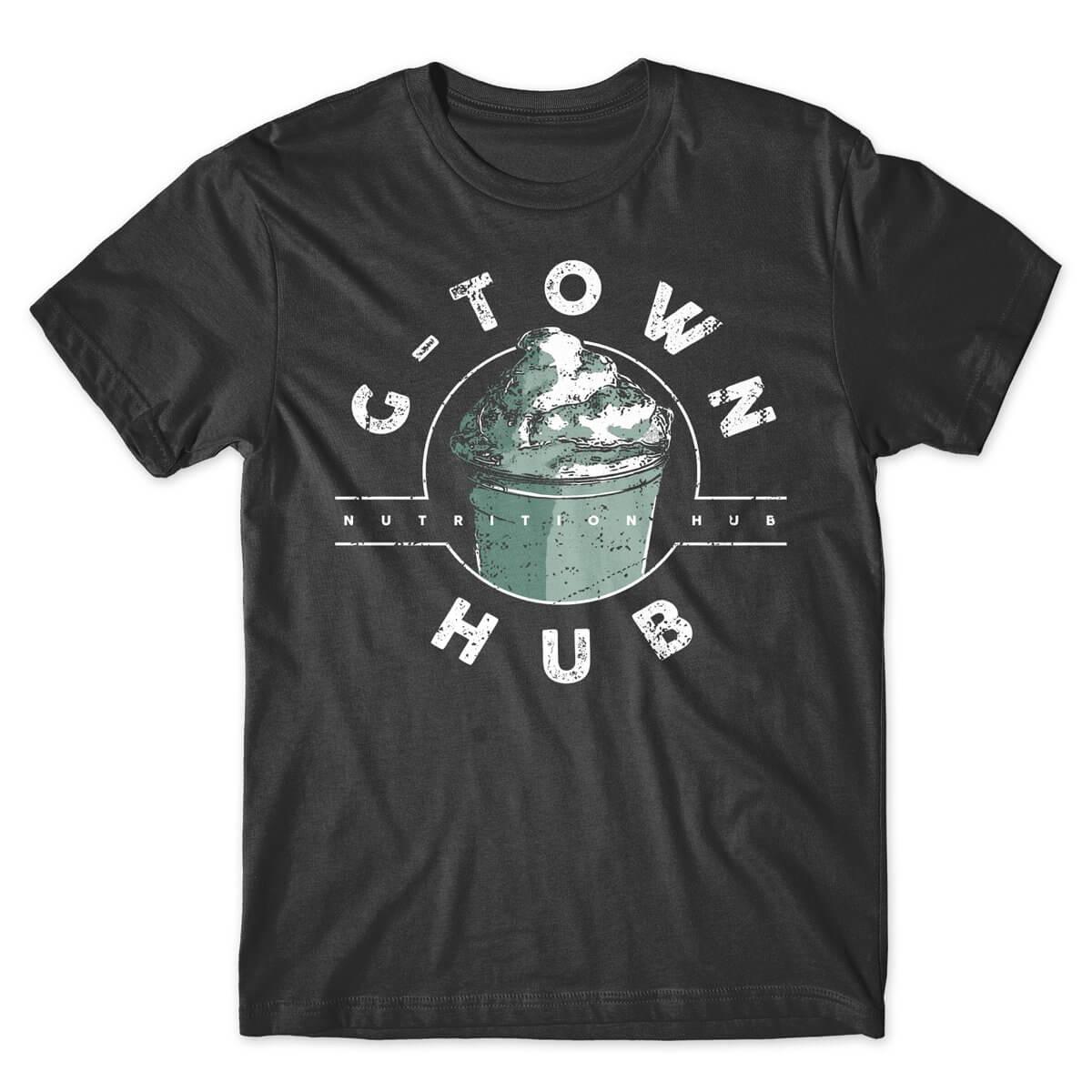 G-Town Hub Nutrition tshirt charcoal