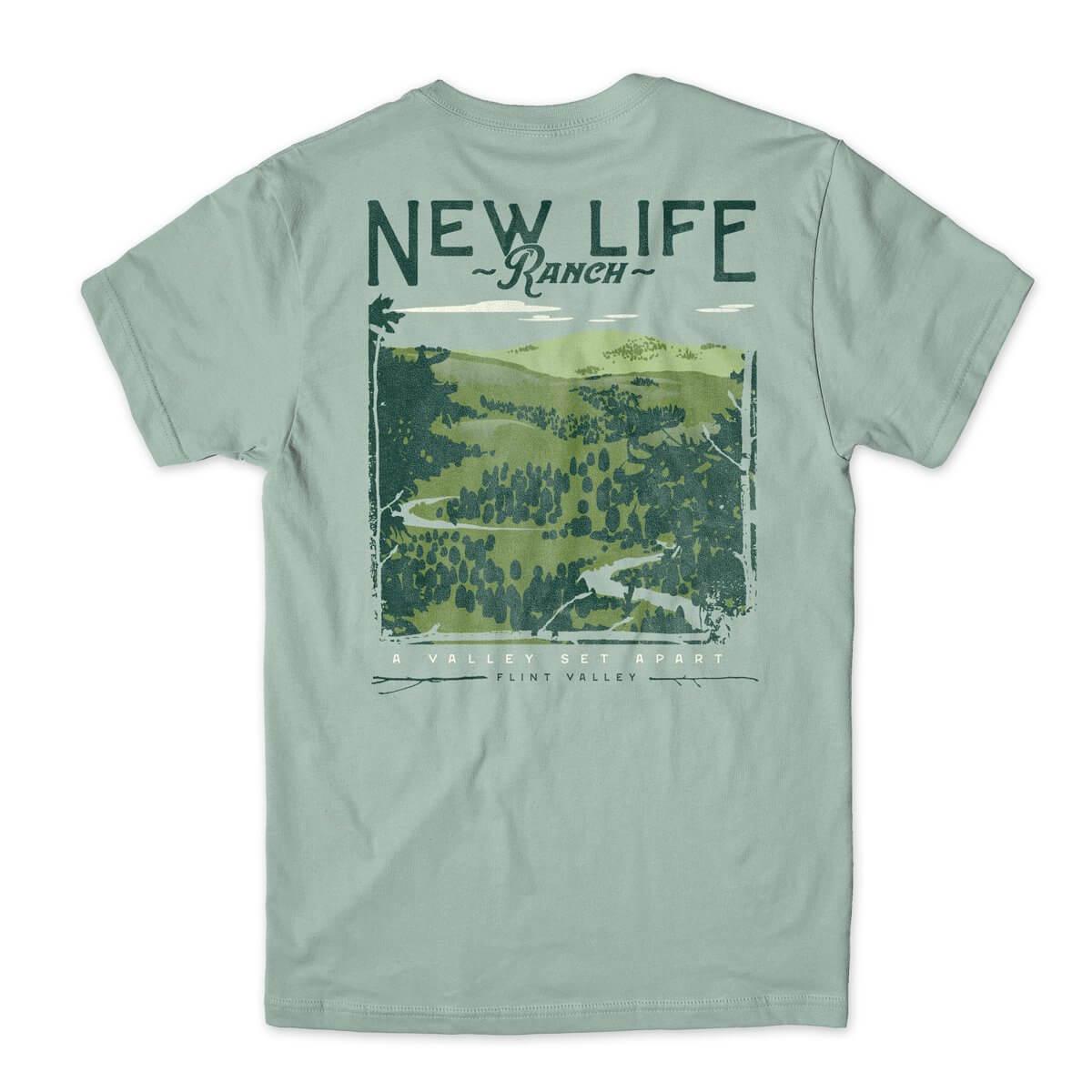 New Life Ranch Flint Valley t-shirt