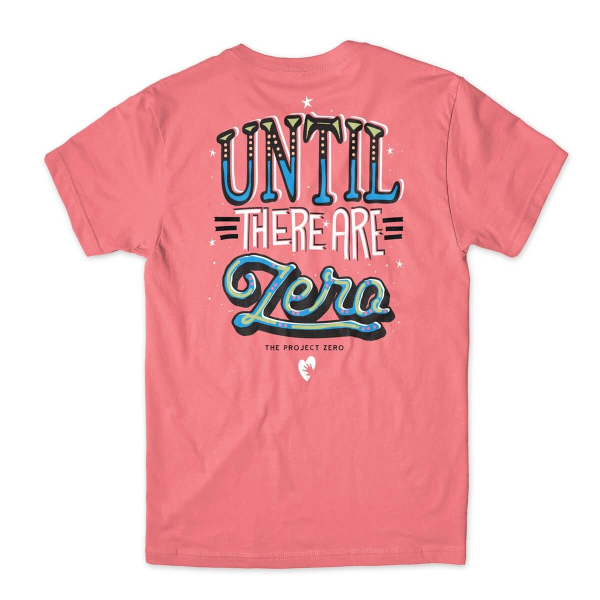 Project Zero Until There are Zero pink tshirt