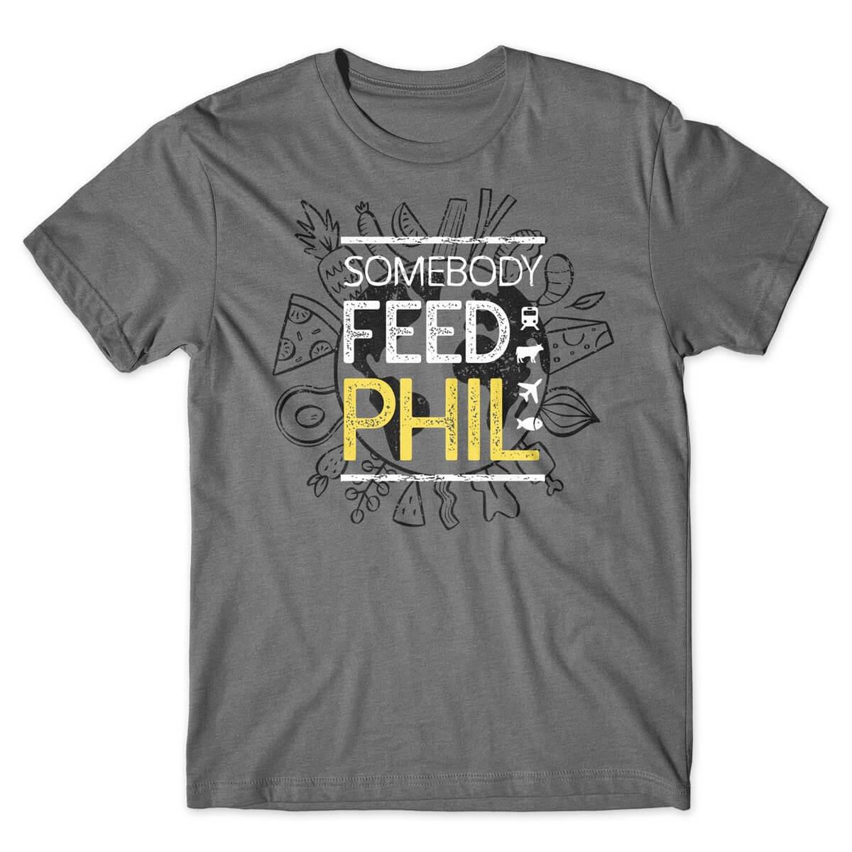 Somebody Feed Phil World Food Tshirt