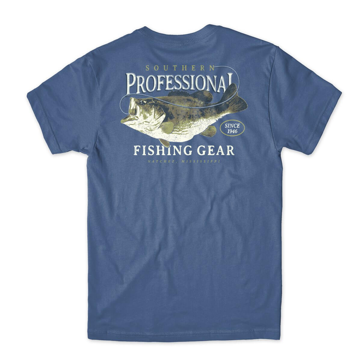 SoPro Gear Hooked Bass t-shirt design