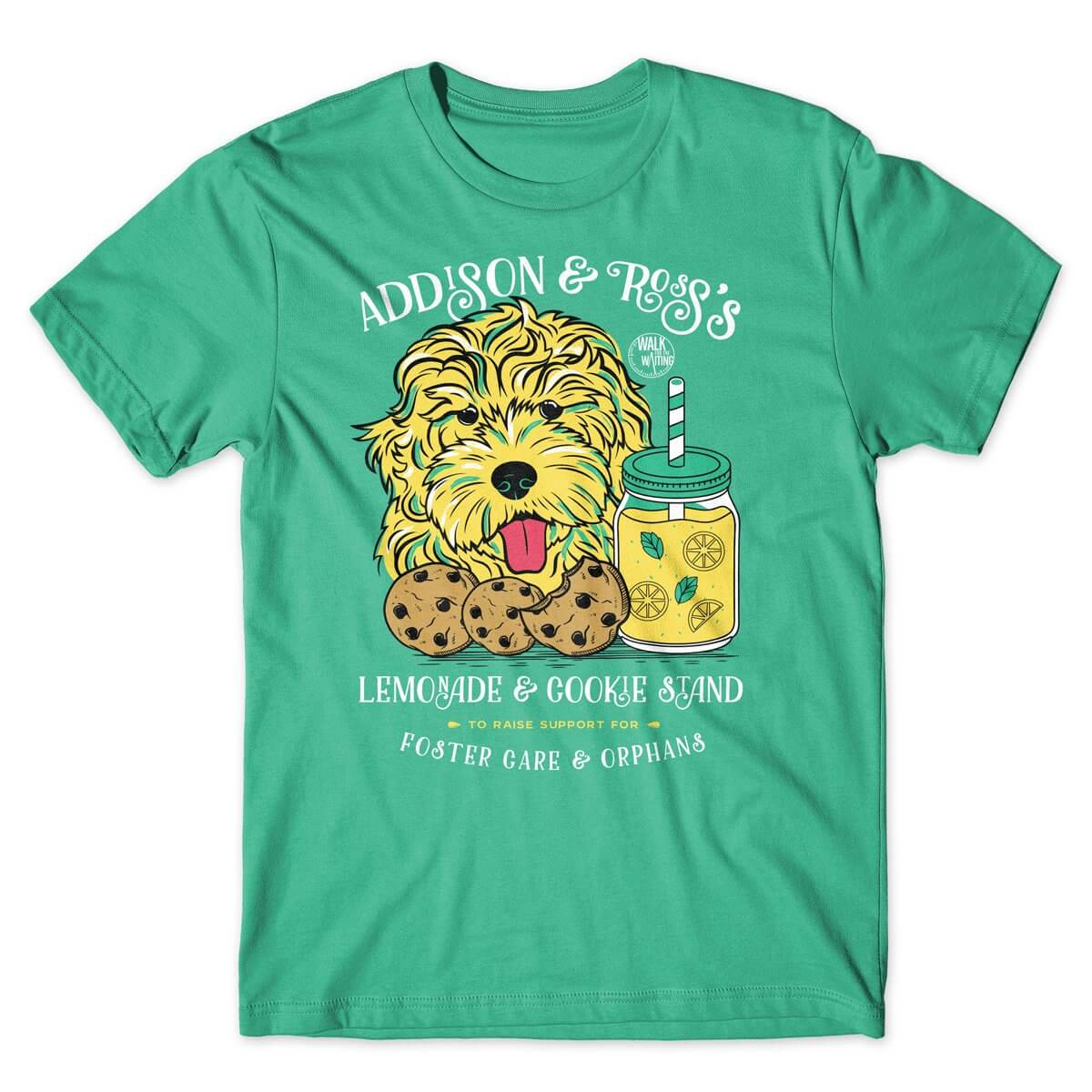 Walk for the Waiting Lemonade Stand t-shirt